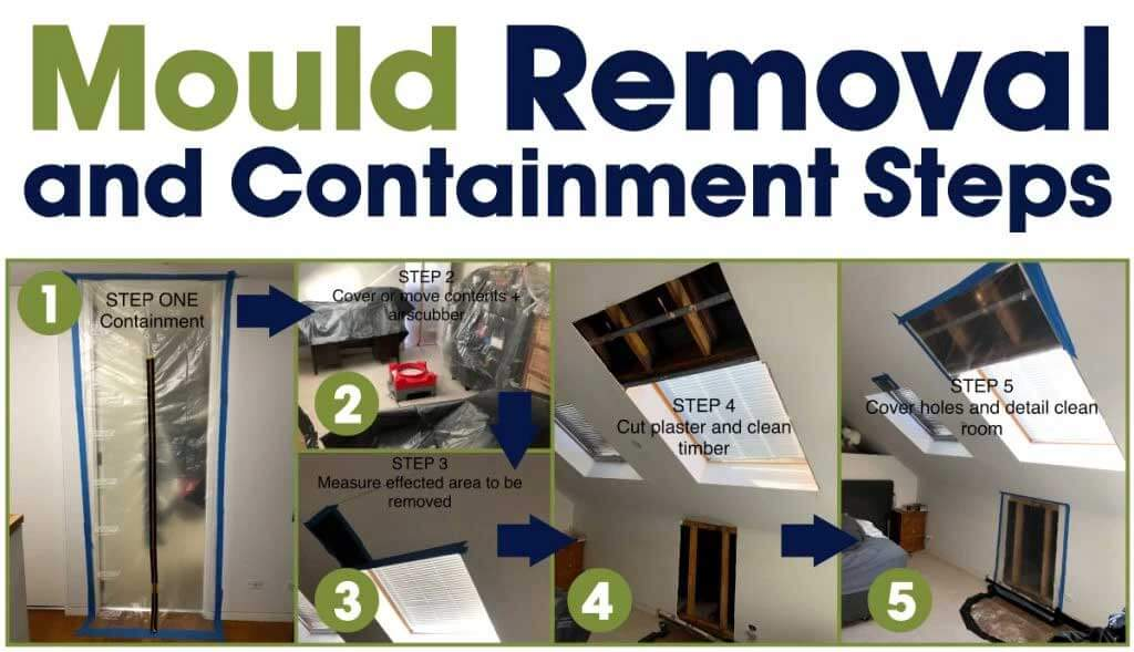 Mould Removal Brisbane containment steps