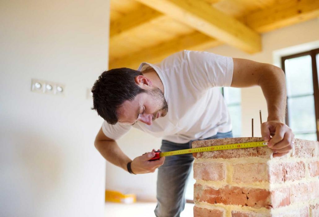 handyman services brisbane measuring room